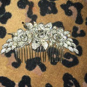 Rhinestone Hair clip